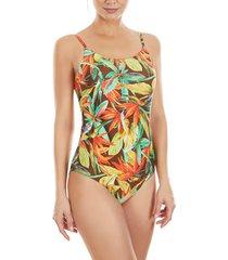 badpak selmark bird of paradise mare 1-delig multi-positie zwempak