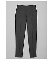 travel tech slim fit flat front dress pants - big & tall clearance by jos. a. bank