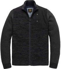 zip jacket knit