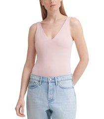 calvin klein jeans v-neck bodysuit
