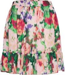 2nd sophia verano thinktwice knälång kjol multi/mönstrad 2ndday