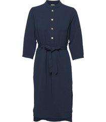 flex dress dresses shirt dresses blauw hope