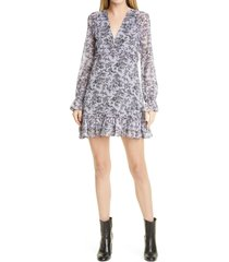women's likely amber floral dress, size 0 - black