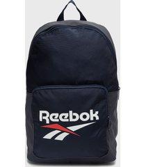 mochila cl fo backpack azul reebok