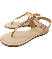 sandalia nude abryl calzados diamond