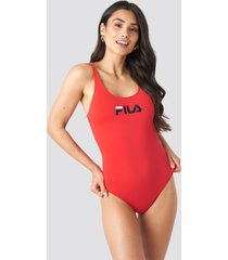 fila saidi swimsuit x na-kd - red