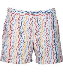 setter lightning stripe swim shorts