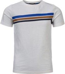 common heroes off/white t-shirt logo voor jongens in de kleur