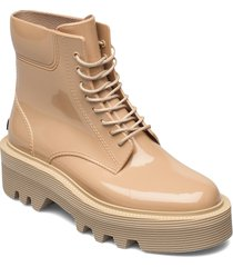 sharon 02 shoes boots ankle boots ankle boot - flat beige lemon jelly