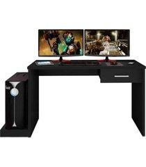mesa para computador notebook desk game drx 9000 preto - mã³veis leã£o - preto - dafiti
