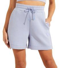 guess high-rise drawstring shorts