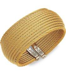 alor women's classique stainless steel cuff bracelet
