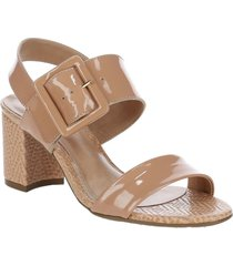 sandalia demi café we love shoes