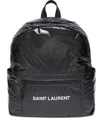 'nuxx' logo print nylon backpack