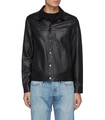 'patterson' leather jacket