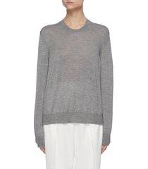 'islington' crewneck cashmere sweater