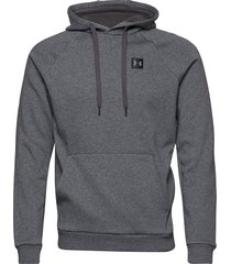 rival fleece po hoodie hoodie trui grijs under armour