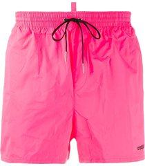 dsquared2 icon swim shorts - pink