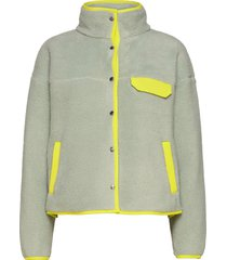 w cragmont flc jkt sweat-shirts & hoodies fleeces & midlayers grön the north face