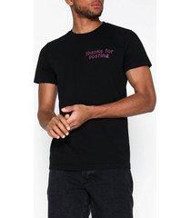 diesel t-diego-j20 t-shirt t-shirts & linnen svart