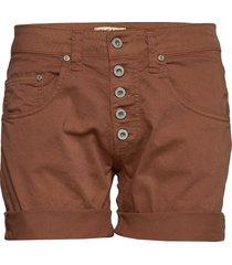 5b shorts cotton shorts denim shorts brun please jeans