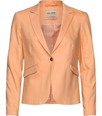 blake night blazer sustainable blazer colbert oranje mos mosh
