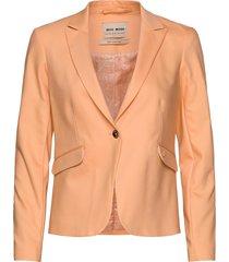 blake night blazer sustainable blazer colbert oranje mos mosh