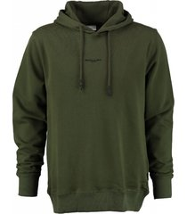 ballin zachte armygroene sweater hoodie
