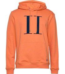 encore light hoodie hoodie trui oranje les deux
