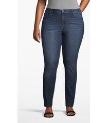 lane bryant women's lane essentials venezia skinny jean - dark wash 26l dark wash