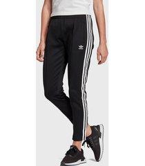pantalón de buzo adidas originals ss tp negro - calce regular