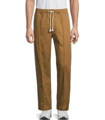champion men's drawstring straight pants - tinted tan - size xxl