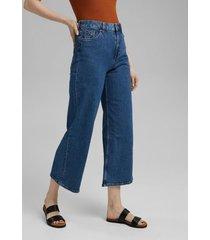 jeans mujer anchos high rise denim esprit
