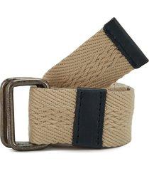 cinturón beige-negro colore
