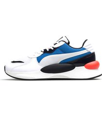 tenis blanco multicolor puma rs 9.8 fresh 371571-02