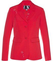 blazer con strass (rosso) - bpc selection