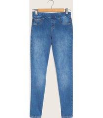 legging tipo jean azul 6