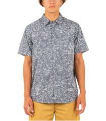 hurley men's organic palmier shirt