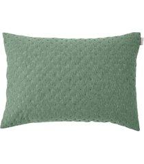 porta travesseiro altenburg boulevard carbon new poliéster quartz - verde verde - tricae
