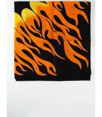 akira fire flame scarf