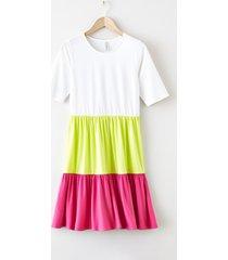 abito (bianco) - rainbow