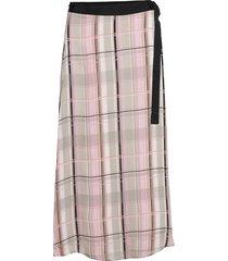 lr-emmy knälång kjol rosa levete room