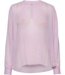 ariana care blouse blouse lange mouwen roze bruuns bazaar