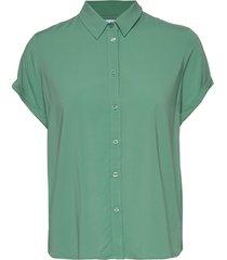 majan ss shirt 9942 blouses short-sleeved groen samsøe samsøe