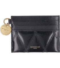 givenchy gv3 quilted leather card holder