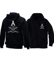masonic freemasons symbols square &compasses faith hope charity black hoodie