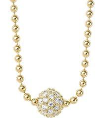 women's lagos 'covet' diamond pave pendant necklace