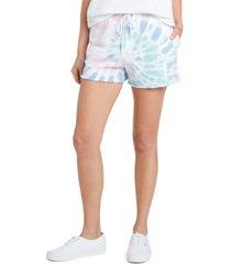 dickies juniors' tie-dyed drawstring shorts