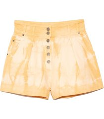 ares shorts in wheat tie dye