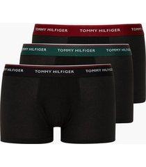 tommy hilfiger 3p wb lr trunk boxershorts multicolor